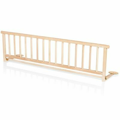 Baninni Bed Rail Guard Cot Safety Child Toddler Rocco Nature Wood BNBTA015-NT#