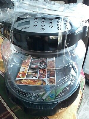 NuWave Cooking System Oven Pro Black plus Accessories Pizza Convection extras