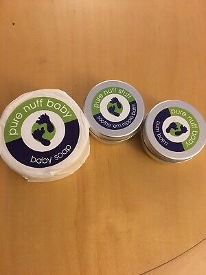 Pure Nuff Baby - Bum Balm, Nipple Balm And Baby Soap