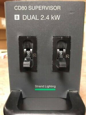 Strand Lighting CD 80 Supervisor B Dual 2.4 Kw Dimmer module
