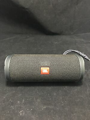 JBL Flip 4 Portable Wireless Bluetooth Stereo Speaker Waterproof (Black Color)
