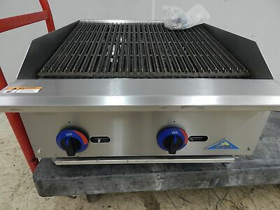 "Comstock-Castle 24"" Gas Charbroiler, New ""Scratch & Dent"""