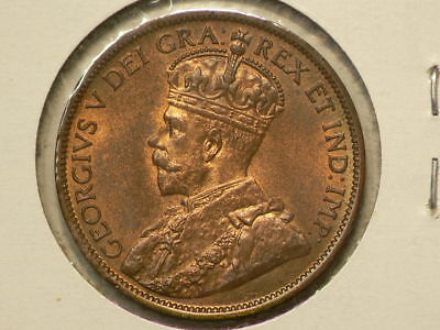 1912 Canada Large Cent  RED Uncirculated #9967