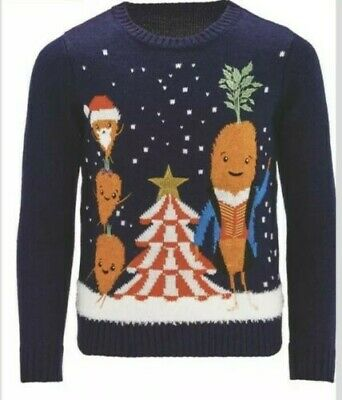 Kevin the Carrot Kids Jumper Age 7-8 years Aldi