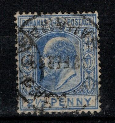 Bahamas 1906 King Edward VII 2½d  SG73 Used