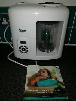 Tomme Tippee Food Steamer And Blender in excellent condition