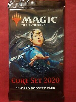 Magic The Gathering 2020 CORE SET New Sealed Booster Pack MTG