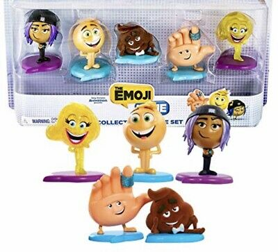 New Sealed! The Emoji Movie Collection Figure Set