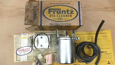 NOS FRANTZ OIL CLEANER UNIT Original Sky 1957 1960's Ford Chevy Buick Dodge Jeep