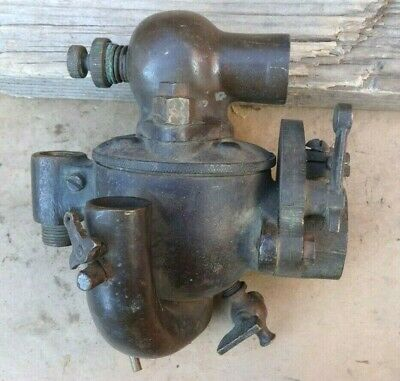 Early BRASS SCHEBLER CARBURETOR EX25 Original Vintage