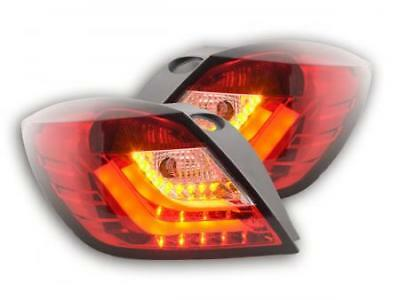 Feux arriere LED Opel Astra H GTC An. 04-08 rouge/clair