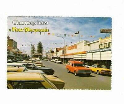 Australia Postcard, Greetings from PORT MACQUARIE NSW