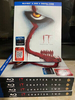 IT Chapter 2 Blu ray / DVD / digital code BRAND NEW sealed