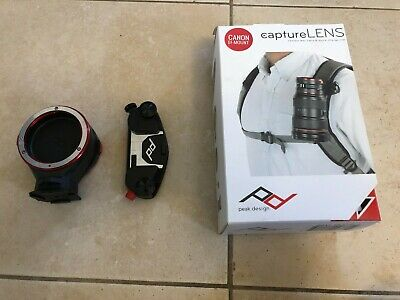 Peak Design Capture Lens Kit Canon EF - Mount/ Used in Very Good Condition