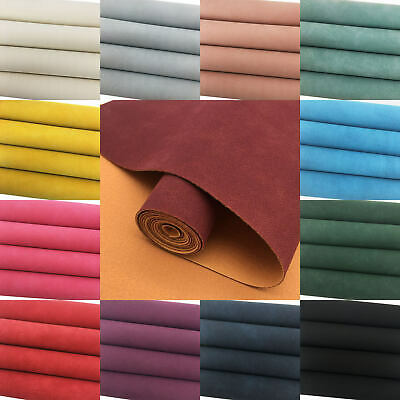 2pcs Faux Suede Synthetic Leather Fabric A4 Sheets Leathercraft for SALE Earring