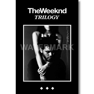 F1153 The Weeknd 2017 World Tour Starboy Music Silk Poster 24x36 40In
