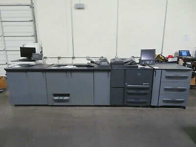 Konica Minolta Bizhub PRESS 1052 copier printer scan 105 ppm 950K meter