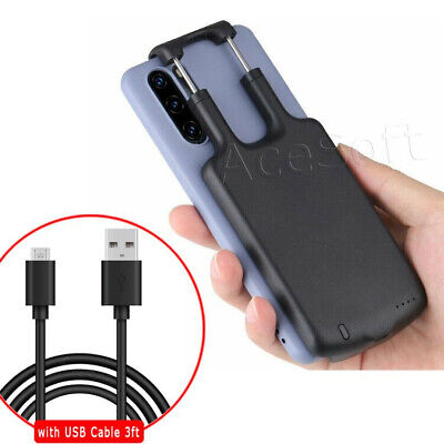 5000mAh Extended Battery Backup Power Bank Charger Case for LG G8X ThinQ Phone