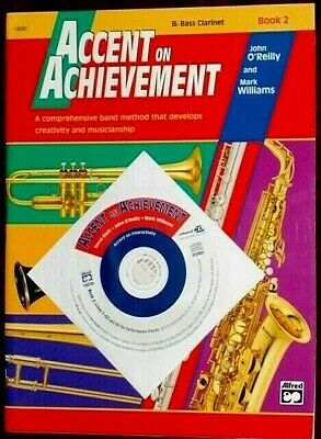 ACCENT ON ACHIEVEMENT - Bb Bass Clarinet - Book 2  with CD