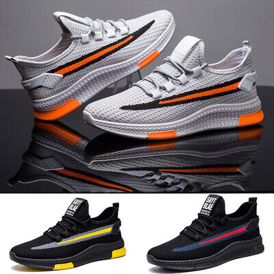 Mens Outdoor Sneakers Breathable Ultralight Casual Athletic Sports Running Shoes