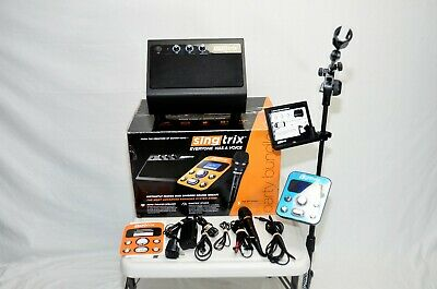 Singtrix Party Bundle Karaoke System in Very Good Condition, Tested!