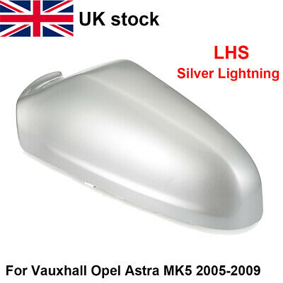 Vauxhall Astra MK5 Wing Mirror Cover 2009-2013 Silver Lightning LHS