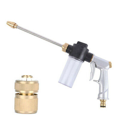 High Pressure Washer Nozzle Jetter Water Gun Connector Adapter Gardening Tools