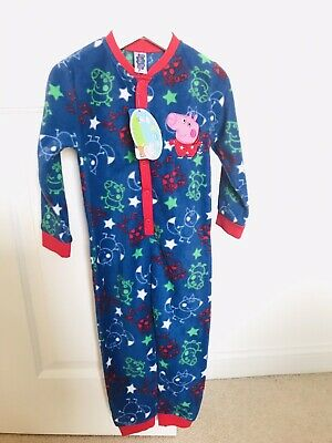 Peppa Pig All-In-One Fleece Size 2-3 Yrs