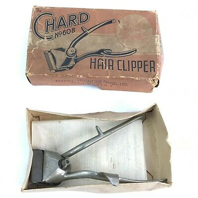 BROWNS CLIPPER & CO Silver Vintage Hair Clipper No 60B Instructions TH371113