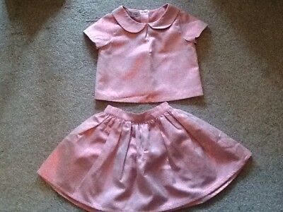 Beautiful Sparkly Next Skirt & Top  Âge 4-5yrs  ** Worn Twice**