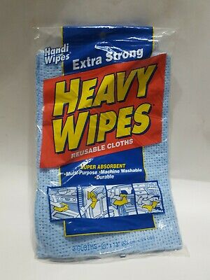 Vtg Handi Wipes Extra Strong 1 Pk Of 3 New Old Stock Kitchen Shop House