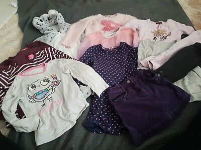 Winter Bundle Girls 5 6 Years Jumper Long Sleeved Top Skirt All In One Pj Mouse