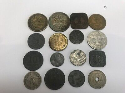 Mixed Job Lot Foreign Collectable Coins (lot 13) *Interesting and Unusual* Rare*