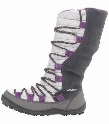 Girls Columbia Youth Loveland Omni-Heat-K Snow Winter Boors Size Big Kid 7 Grey