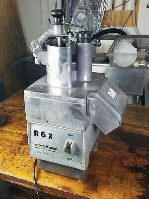 Robot Coupe R6X Commercial Food Processor Great Deal