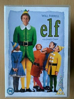 Will Ferrell ELF ~ 2003 Christmas Favourite Comedy Classic | UK 1-Disc DVD BNIB