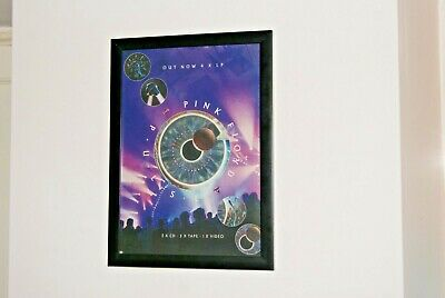 PINK FLOYD - FRAMED A4 rare album ORIGINAL poster PULSE live album 1995