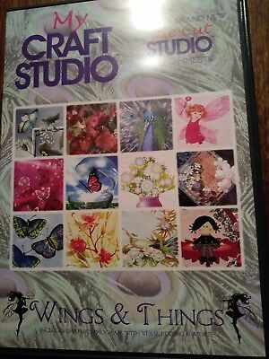 My craft studio wings & things cd rom