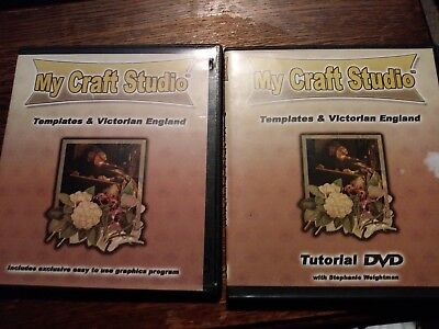 My craft studio templates & victorian england 2 discs