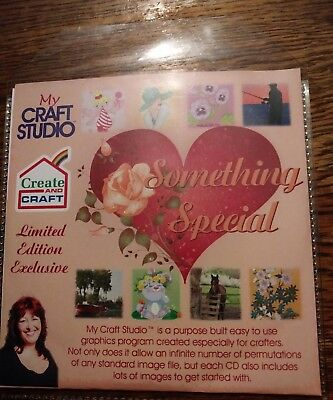 My craft studio something special cd rom