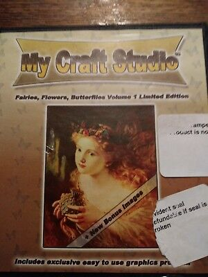 My craft studio fairies flowers butterflies volume 1 cd