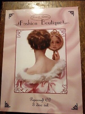 Joanna sheen fashion boutique papercraft cd 3 disc set