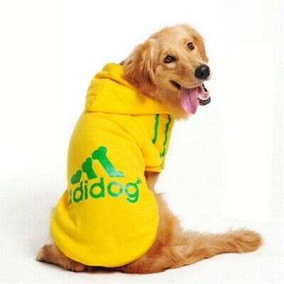 Adidog New Winter Warm Hoodie For Large Dogs Clothes  Size 3XL