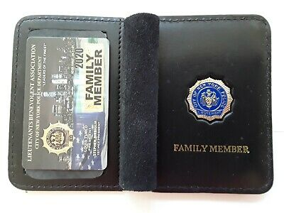 1 Brand New  Lba Pba Card With Leather Family Member Wallet Cea Sba Dea Pba Card