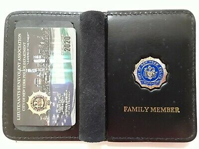 "1 ""Collectible""  Lba Pba Card With Leather Family Member Wallet Not Dea Sba Cea"