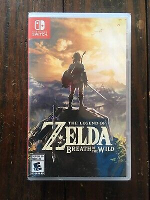 The Legend of Zelda: Breath of the Wild Standard Edition - (Brand New: Sealed)