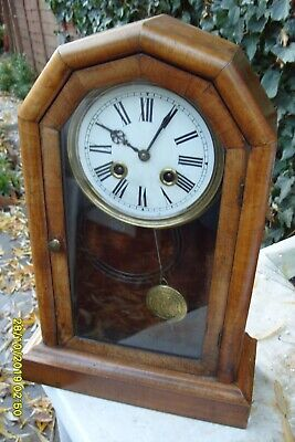 Mantel  Clock Striking   Mantel  Clock Usa  Working  Key And  Pendulum