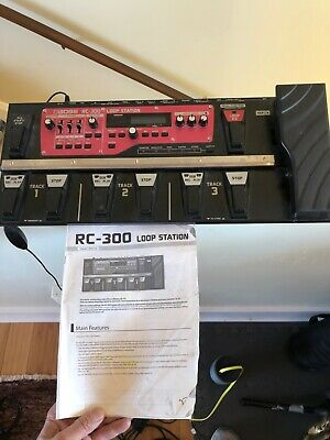 BOSS RC-300 Loop Station Triple-Stereo Mega Looper - Used in home studio only