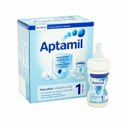 Aptamil First Infant Milk STARTER PACK 1 From Birth New