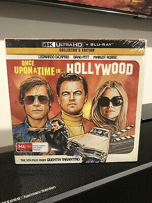 Once Upon A Time In Hollywood 4K Ultra Hd Blu-Ray Limited Edition Box Set